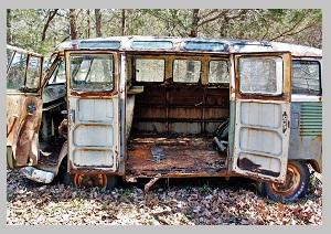 Утилизация старых автобусов