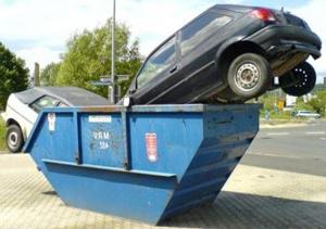 Как утилизировать автомобили